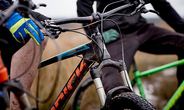 Riddick Mountain Bikes in action