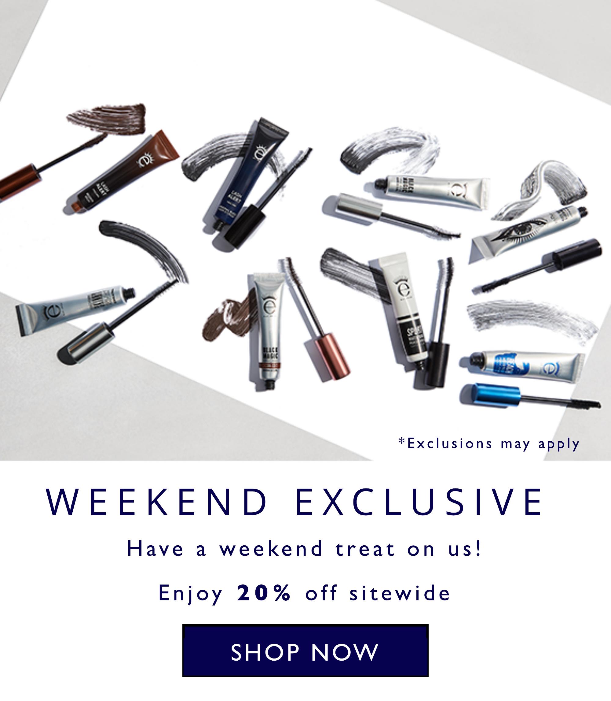 20% off weekend exclusive