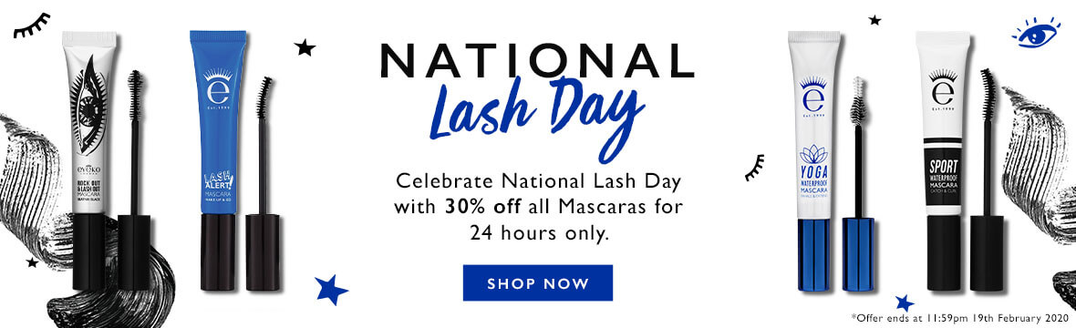 National Lash Day - Get 305 off all mascaras for 24 hours only!