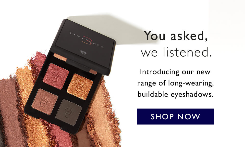 Introducing the Limitless Eyeshadow Palettes