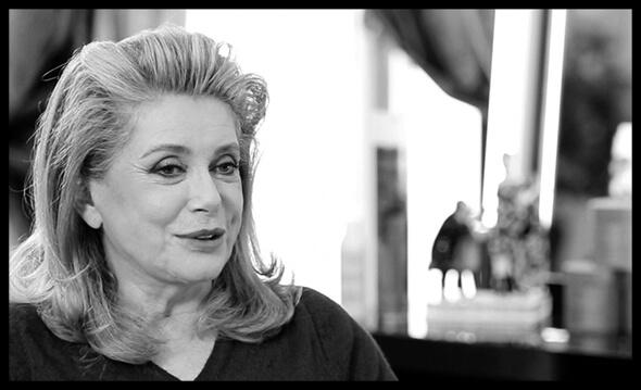 1995 <br> Ma rencontre avec Catherine Deneuve <br> et le monde du cinéma