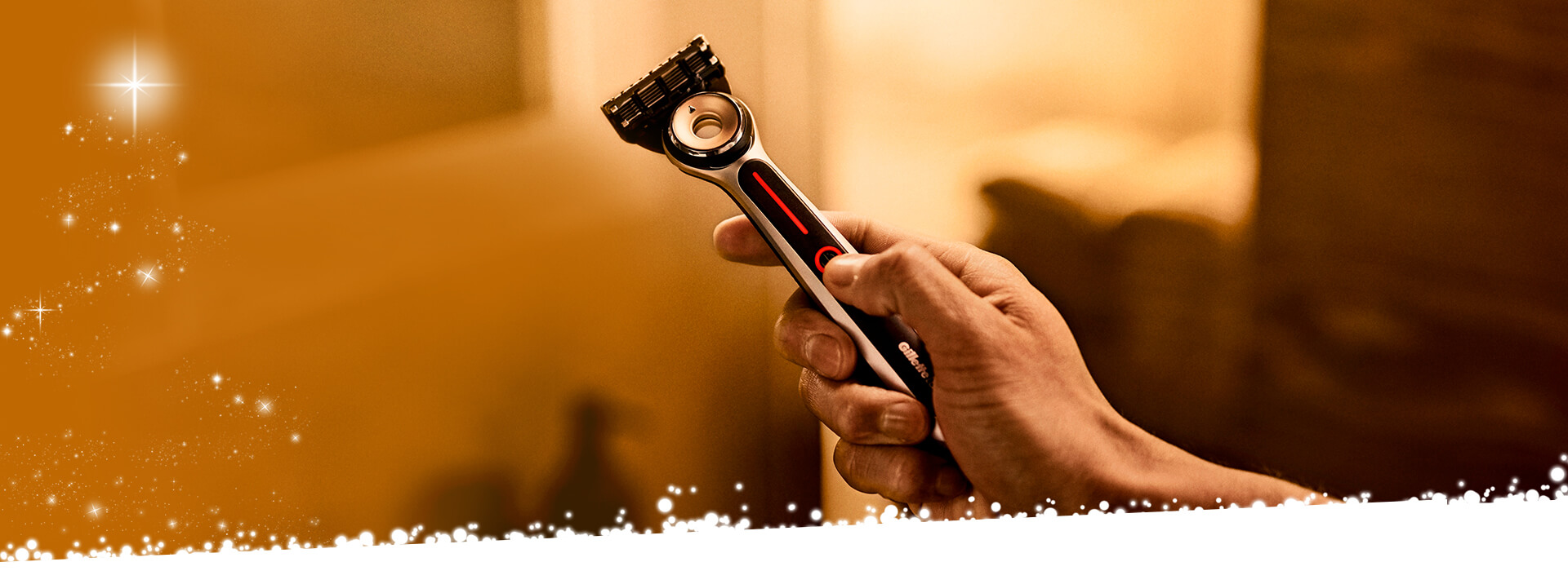 Gillette Weihnachten Heated Razor