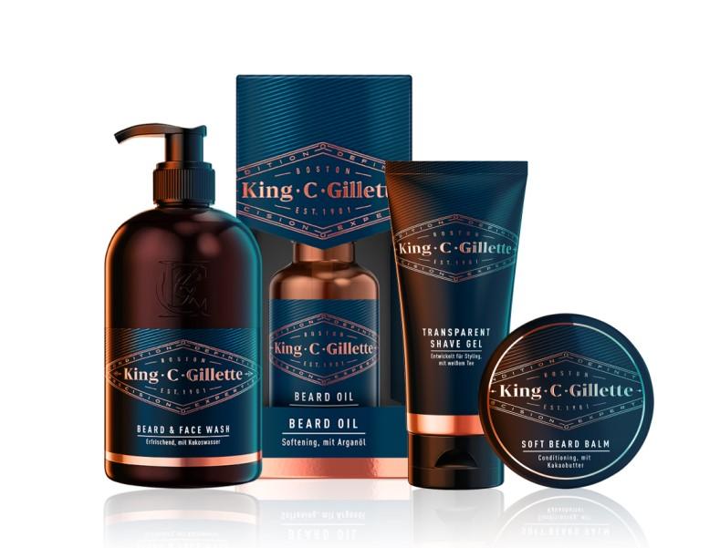 King C. Gillette Bartpflege Set
