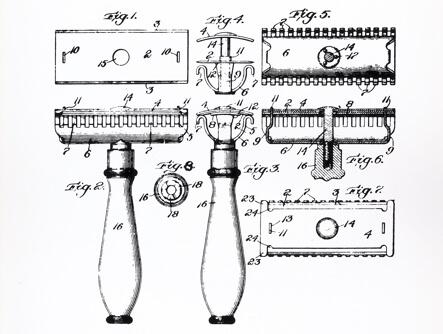 Die Geschichte der Rasur zeigt die Evolution von Rasierern und kontinuierliche Verbesserung
