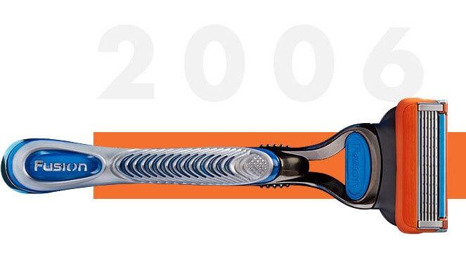 Gillette Fusion razor 2006