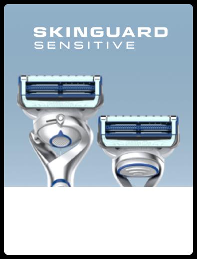 Gillette Skinguard Sensitive Razor Closeup