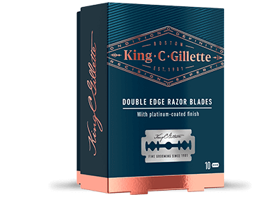 King C. Gillette Double Edge Blades