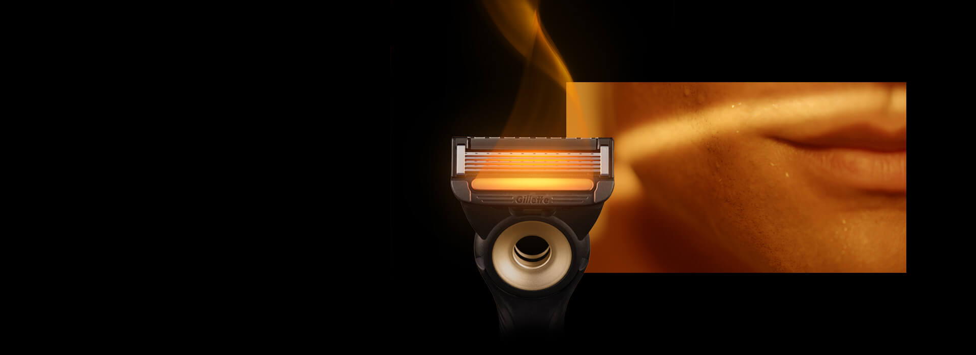 SOOTHING WARMTH With FlexDisc technology to help maintain maximum contact with the warming bar and Gillette's most advanced blades.