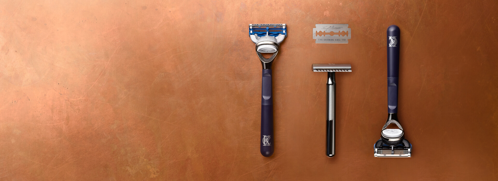 King C. Gillette Razors and Blades