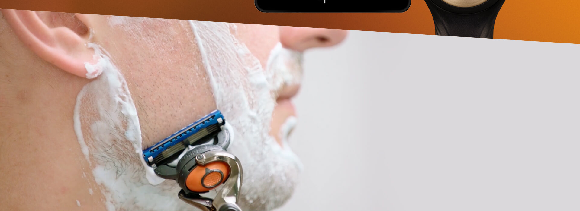 GIllette razor subscriptions - tailored to your shaving habits