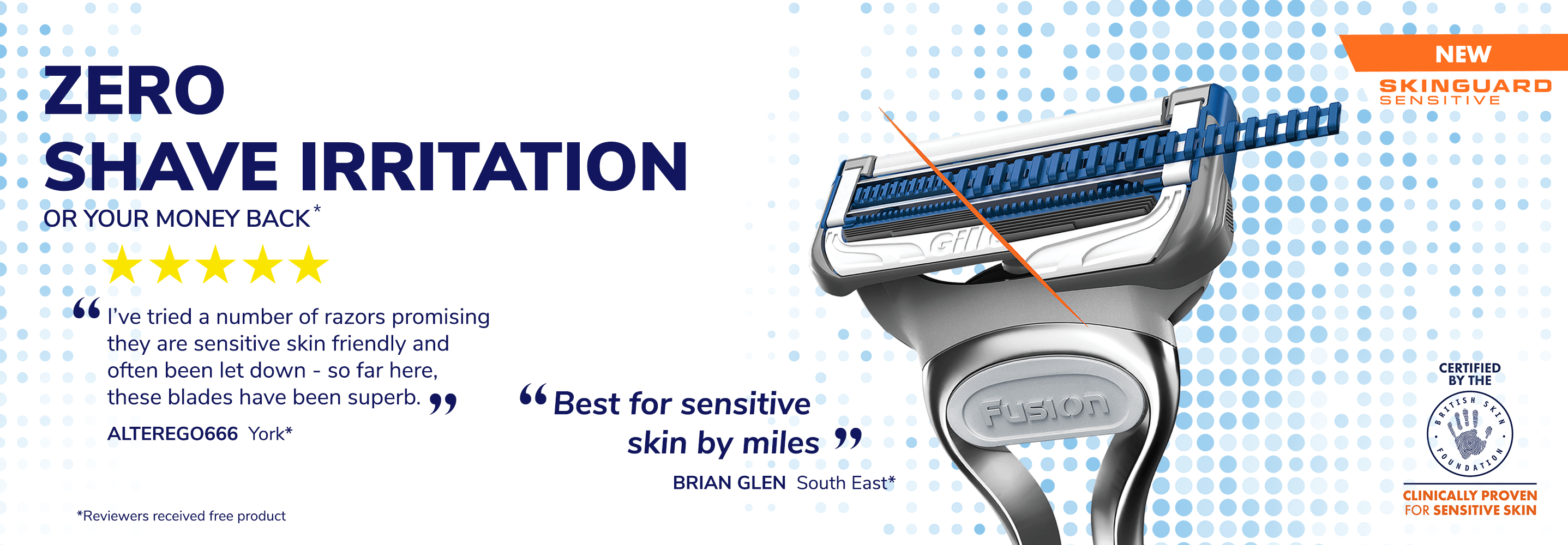 Gillette SkinGuard Sensitive reviews