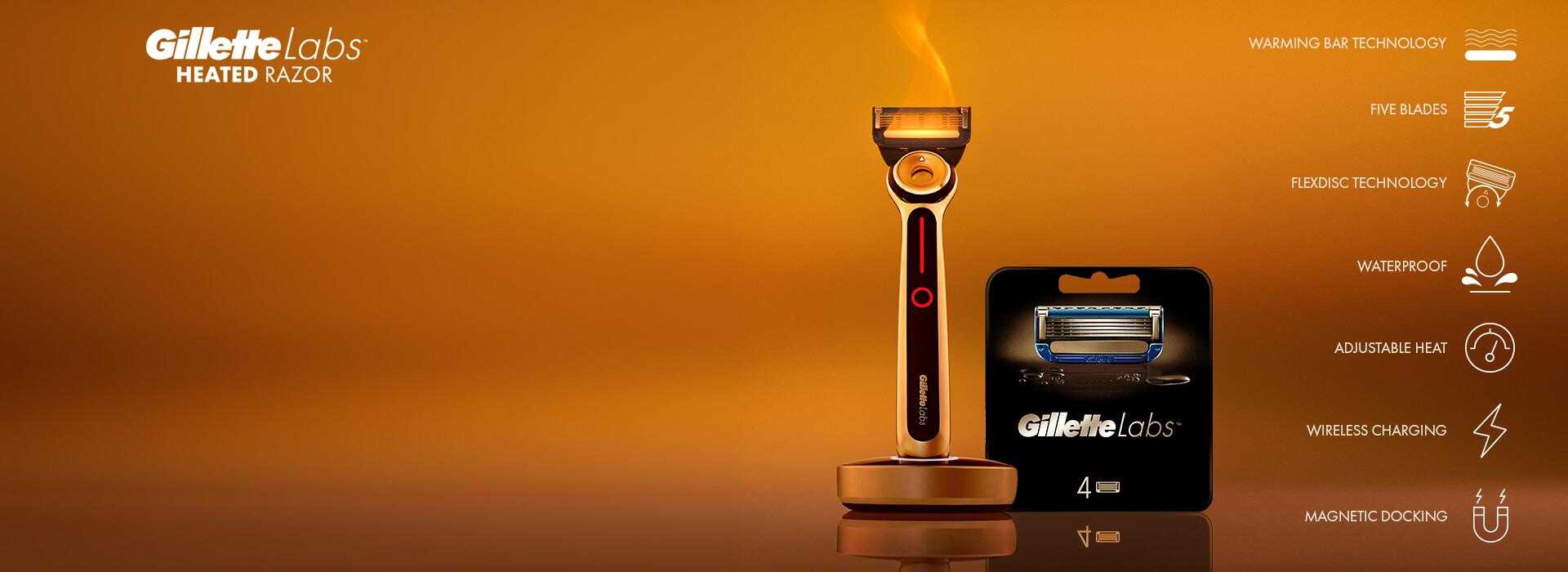 Gillette Heated Razor & Blades
