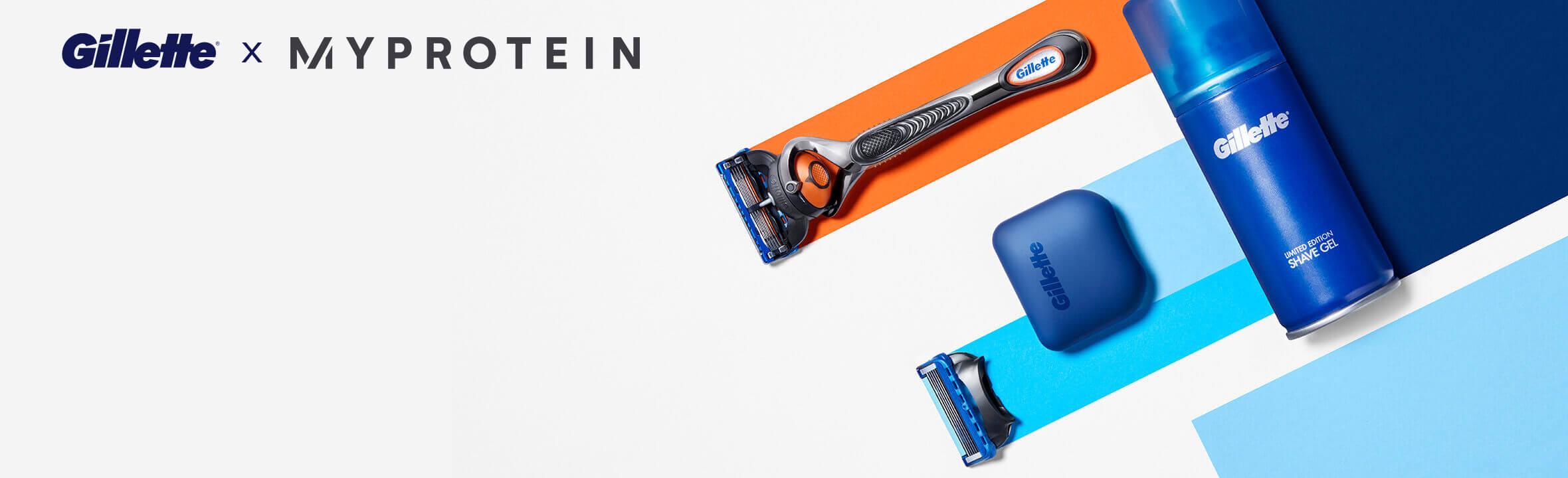 Gillette Shave Subscription, start trial.