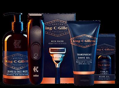 King C. Gillette Ultimate Beard Care Kit