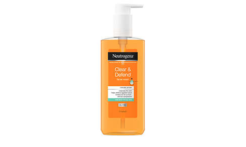 Neutrogena® Clear & Defend Facial Wash