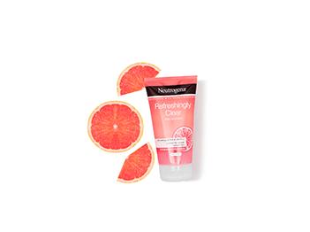 Pink Grapefruit. Withapinkgrapefruitfragrance,RefreshinglyClearpurifiesdeepdownforaclearer,moreradiantcomplexion.