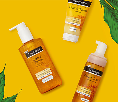 Discover the new Clear & Soothe Range