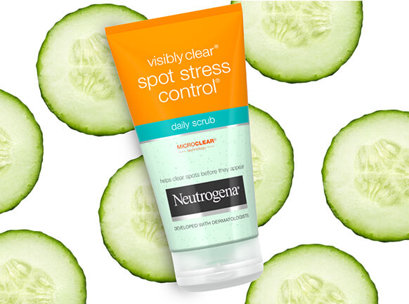 Spot Stress Control. Developed with dermatologists to help to clear spots before they appear, Spot Stress Control is a gentle remedy for visibly clearer skin.