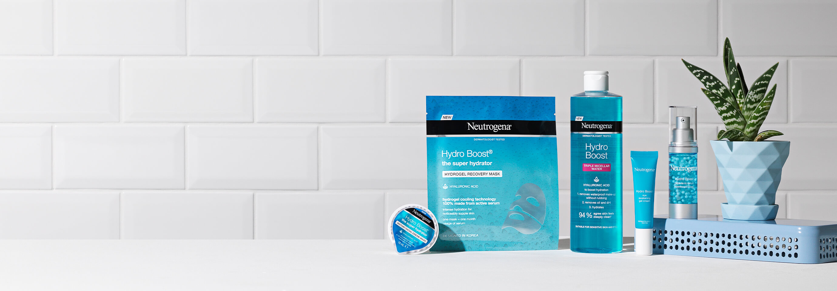 Hydrate at Every Step. Hydration is the foundation for healthy-looking skin. Hydro Boost® is your complete regime.