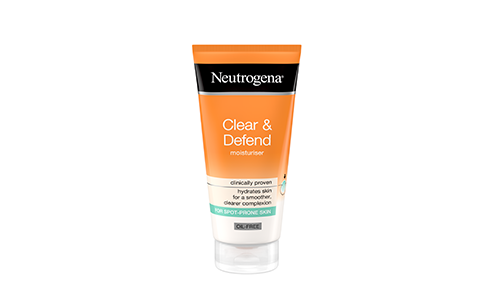 Neutrogena® Clear & Defend Oil Free Moisturiser