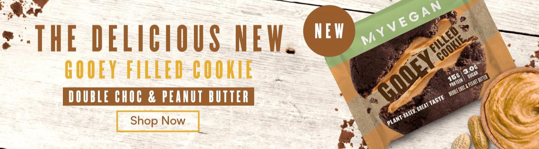 Gooey Filled Cookie | MYVEGAN