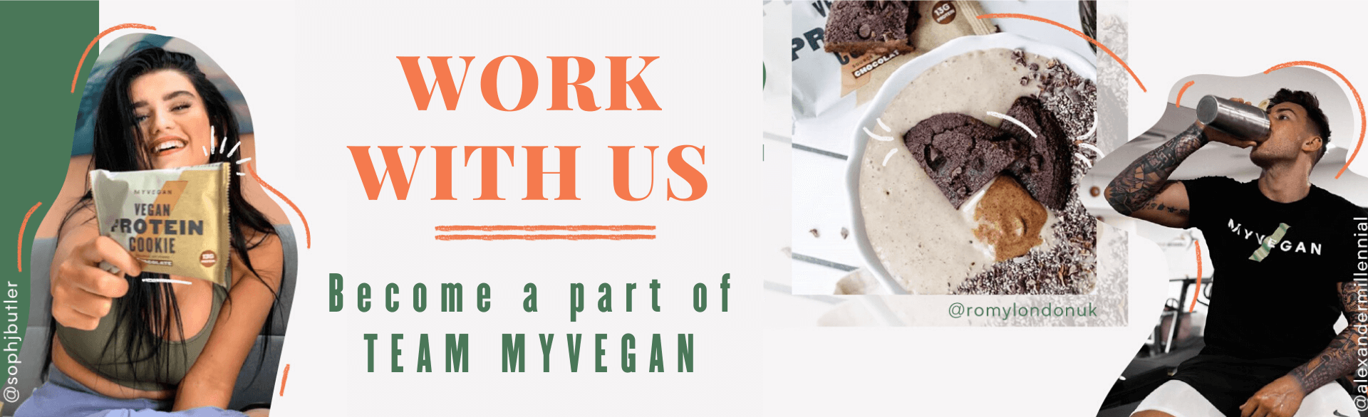 Ways to Work With Myvegan