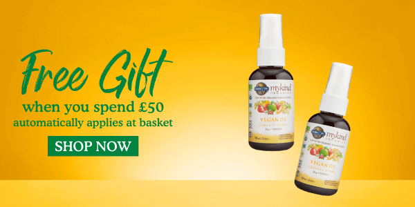 Free gift when you spend £50