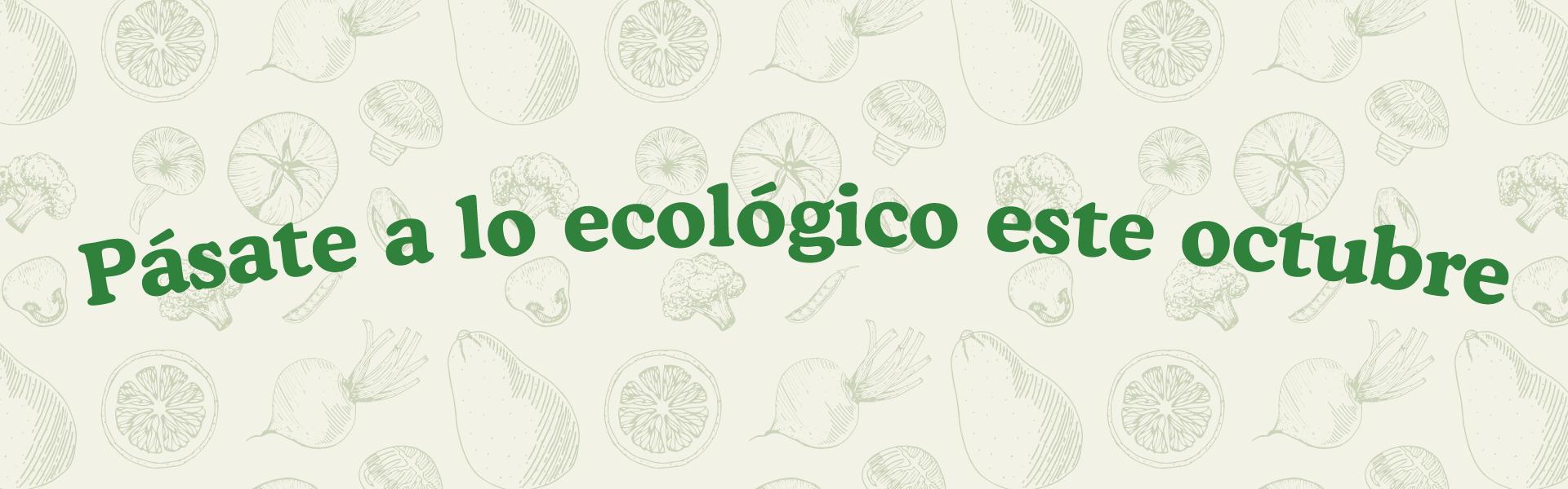 Pasate a lo ecologico este octubre