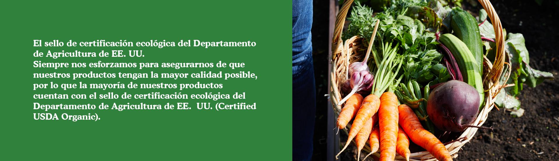 El sello de certificación USDA