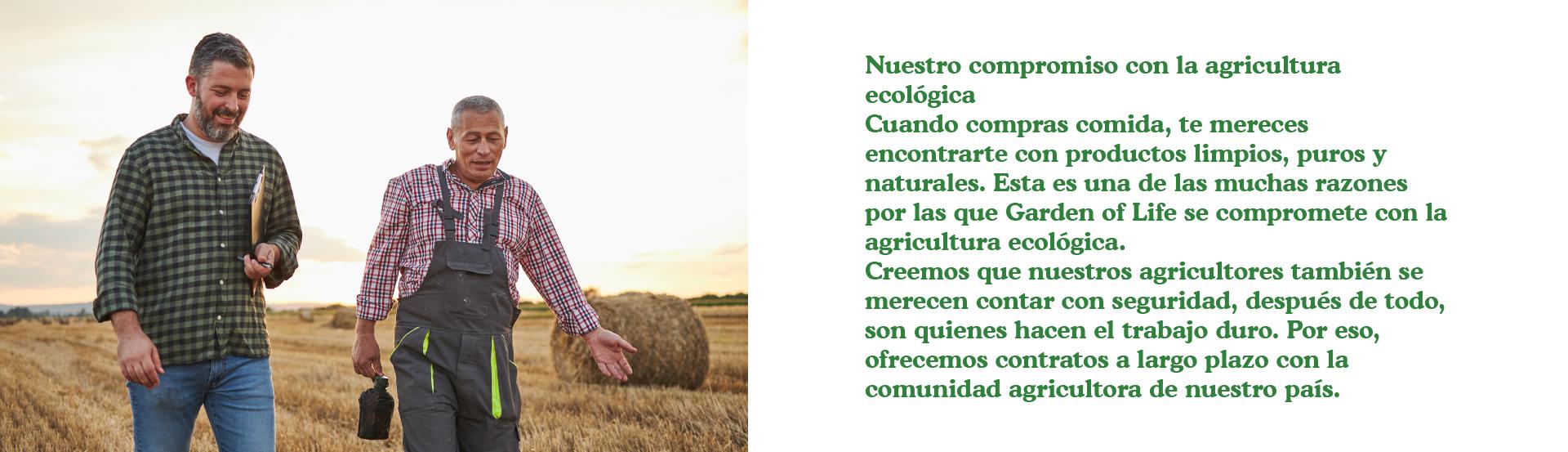 Nuestro compromiso con la agricultura ecológica