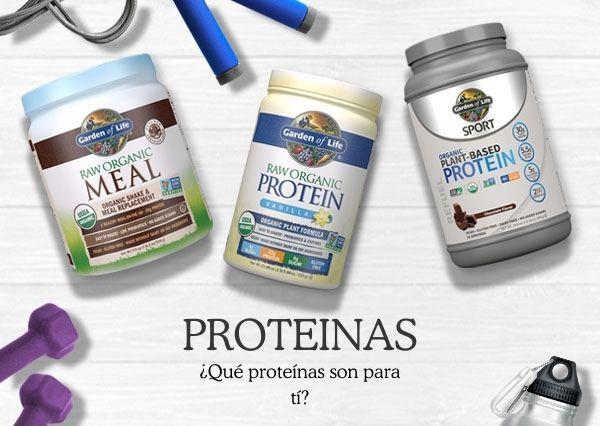 Tipos de proteinas - Banner principal