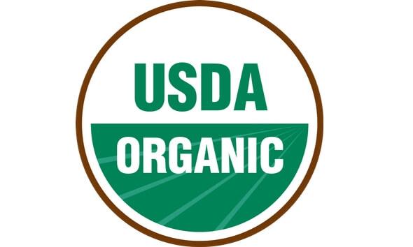 Certificat approuvé biologique - USDA Organic