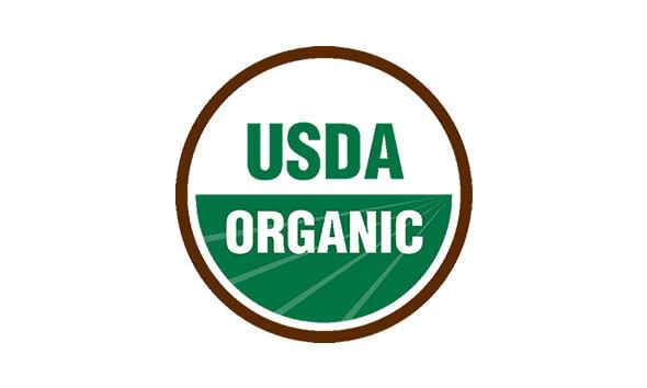Onze Certified USDA Organic en Non-GMO Project Verified-keurmerken