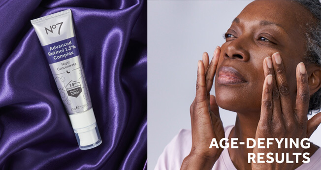 TWO AGE-DEFYING TECHNOLOGIES IN ONE EXPERT FORMULA