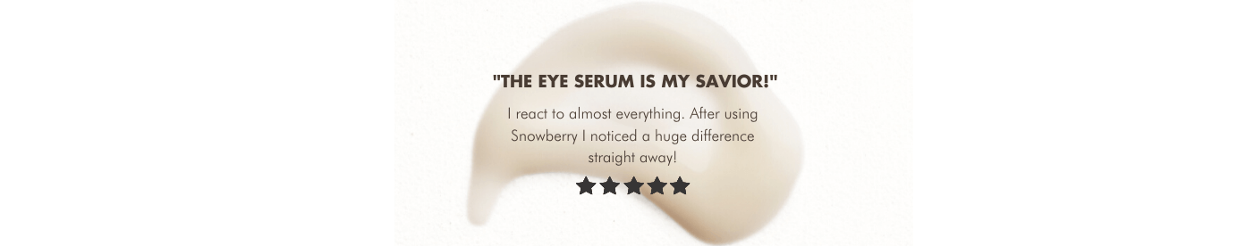 eye serum product review