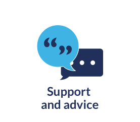 Optifast provides support and advice