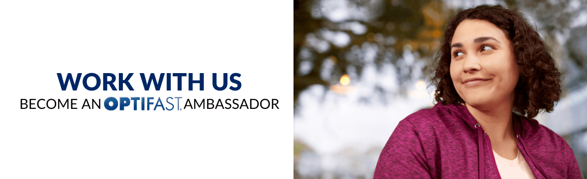 Work With Us - Become an Optifast Ambassador