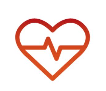 Heart beat inside heart