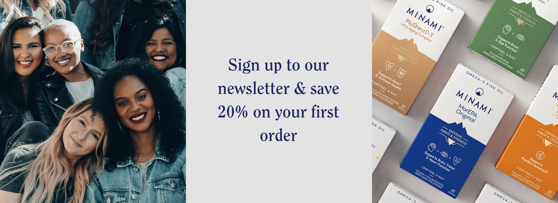 Sign up to our newsletter & save 20% on your first order