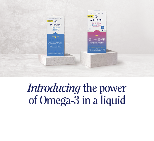 Introducing the power of Omega-3 in a liquid