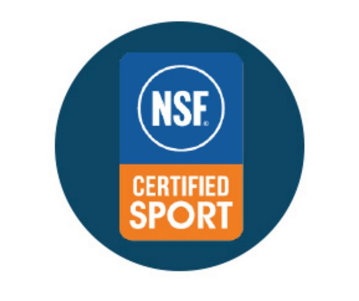 NSFスポーツ認定済み