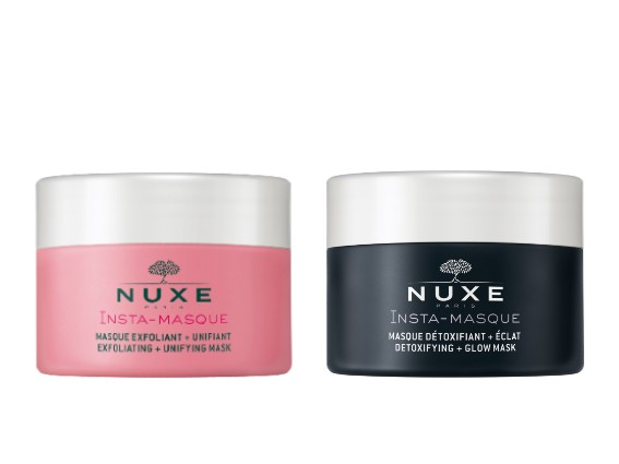 Face masks. Depending on your needs, NUXE Face Exfoliators and Masks clarify, smooth, and refine the skin texture or provides instant hydration and soothing. Find the perfect skincare that suits your needs for a fresh and radiant skin.