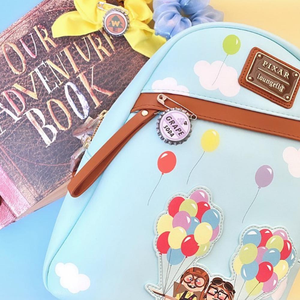 Loungefly Disney UP Adventure Balloons Mini Backpack - VeryNeko Exclusive