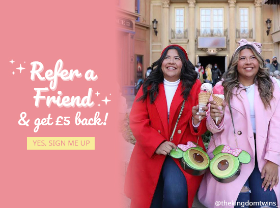 Refer a Friend and get £5 back