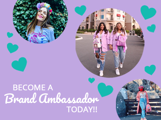 Become a brand ambassador today