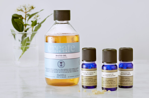 A blend to suit you,  FREE 'Create Your Own Bath Oil' <br> when you choose 2 selected essential oils