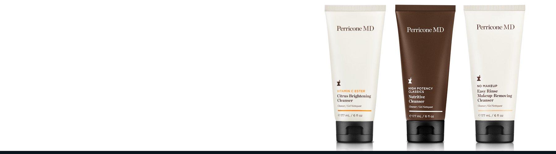 Unsere verjüngenden Gesichtsreiniger absorbieren und beseitigen Unreinheiten wie Make-up und hinterlassen eine glatte, sichtbar gestraffte und wieder ausgeglichene Haut.