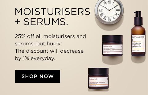 Moisturisers and Serums sale