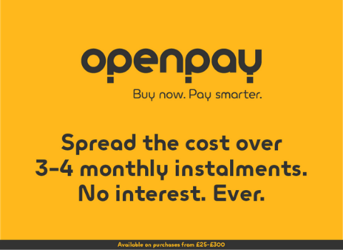 open pay 3-4 month instalments