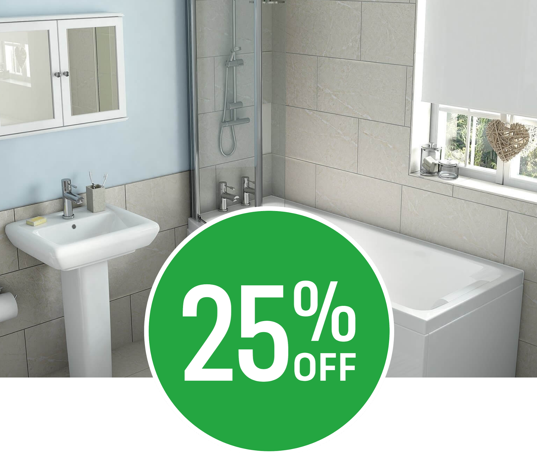 25% off Anais Grey Wall & Floor Tile - 6 Pack